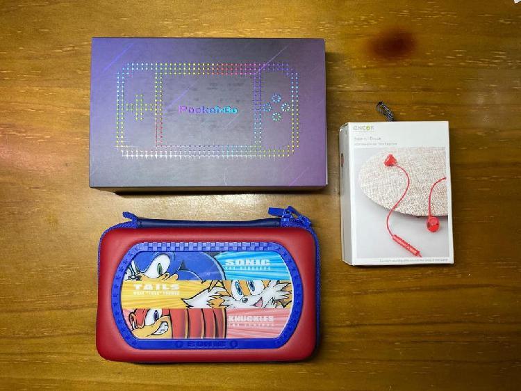 Consola portátil pocket go v2