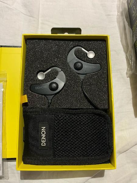 Denon ah-150 auriculares deportivos inalámbricos