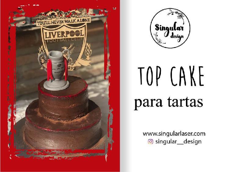 Diseños de top cake para tartas