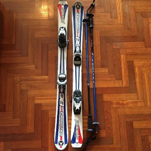 Equipo completo de esquí 12-14 años