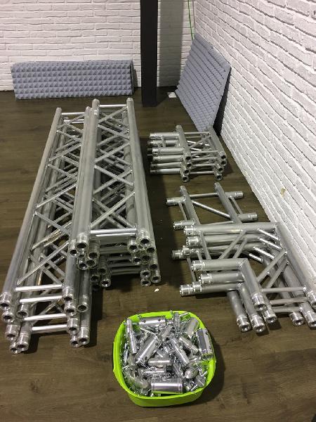 Estructura truss aluminio exposiciones, conciertos