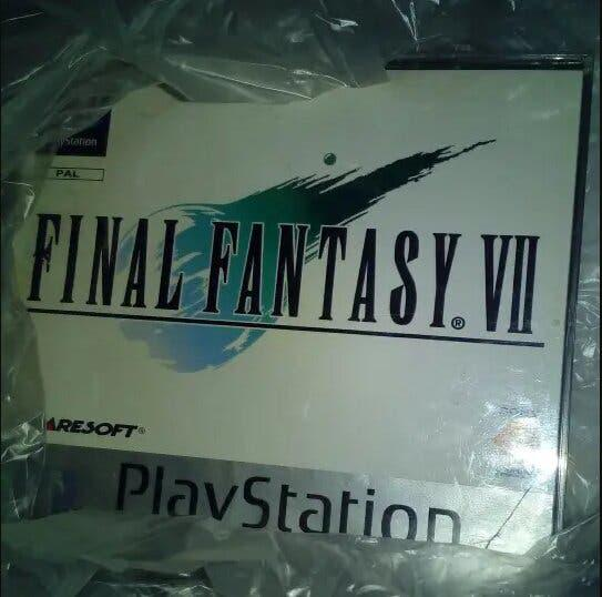 Final fantasy 7 juego de play station 1 original