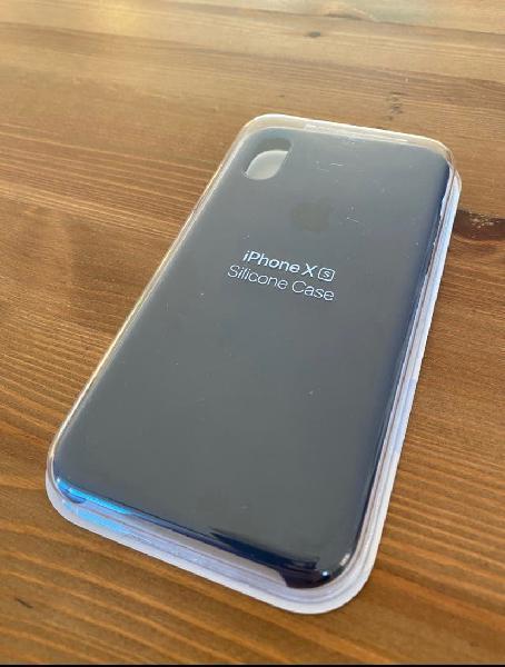 Funda apple silicone case para iphone xs nueva