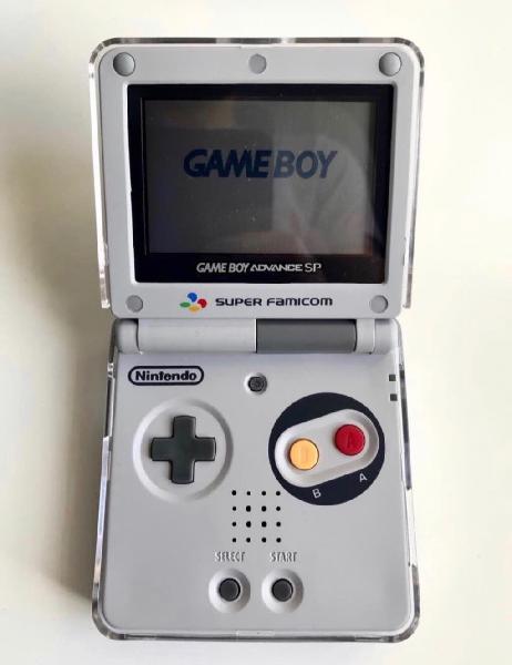 Game boy advance sp edición famicom