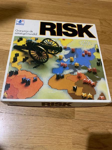 Juego risk antiguo
