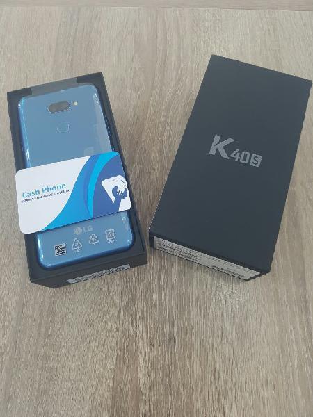 Lg k40s 32gb 2gb ram blue nuevo