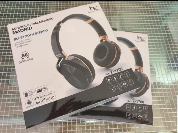 Lote 5 auriculares bluetooth