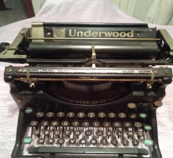 Maquina de escribir underwood made in usa envio peninsular