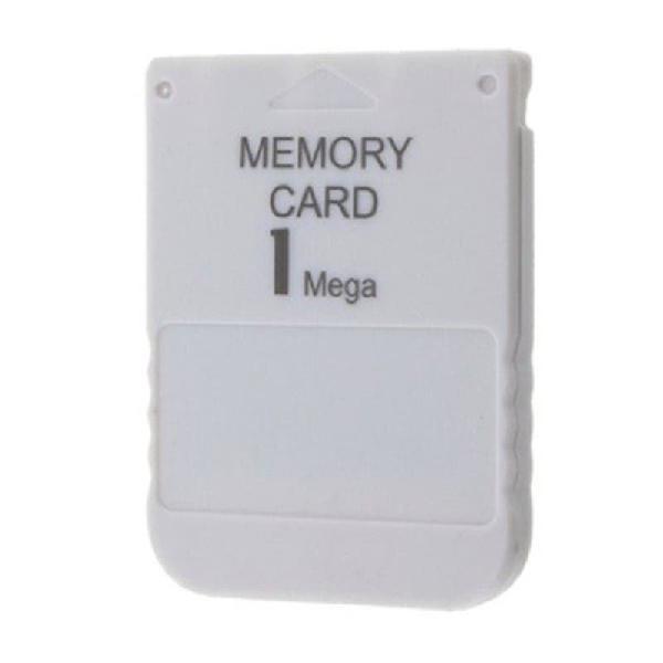 MEMORY CARD PS1 PSX PLAYSTATION 1 1MEGA