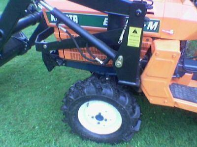 Micro tractor kubota occ + cargador, excavador ret