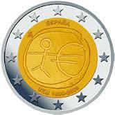 Moneda conmemorativa de 2€ de españa 2009