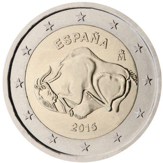 Moneda conmemorativa de 2€ de españa 2015