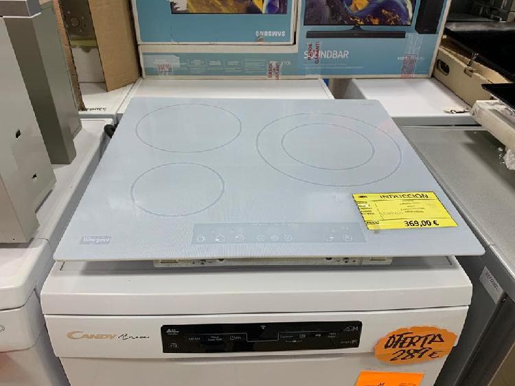 Placa inducción whirlpool acm680ne