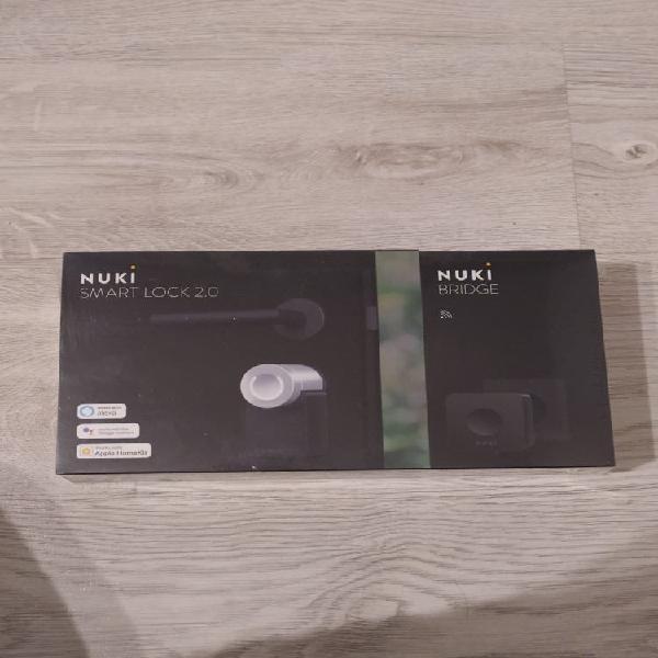 Precintada] nuki combo smart lock 2.0/nuki bridge
