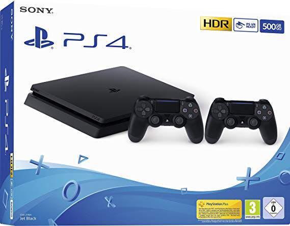 Playstation 4 (ps4) + 3 juegos + 2 mandos