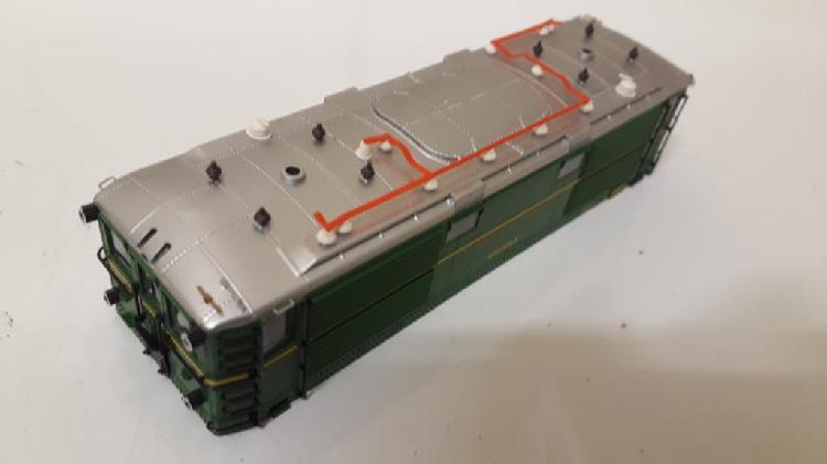 Renfe serie 1000 carrocería tren eléctrico h0