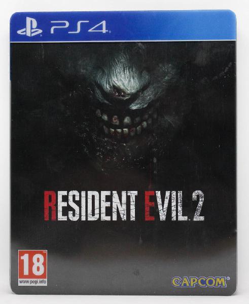 Resident evil 2 remake limited edition ps4 pal esp