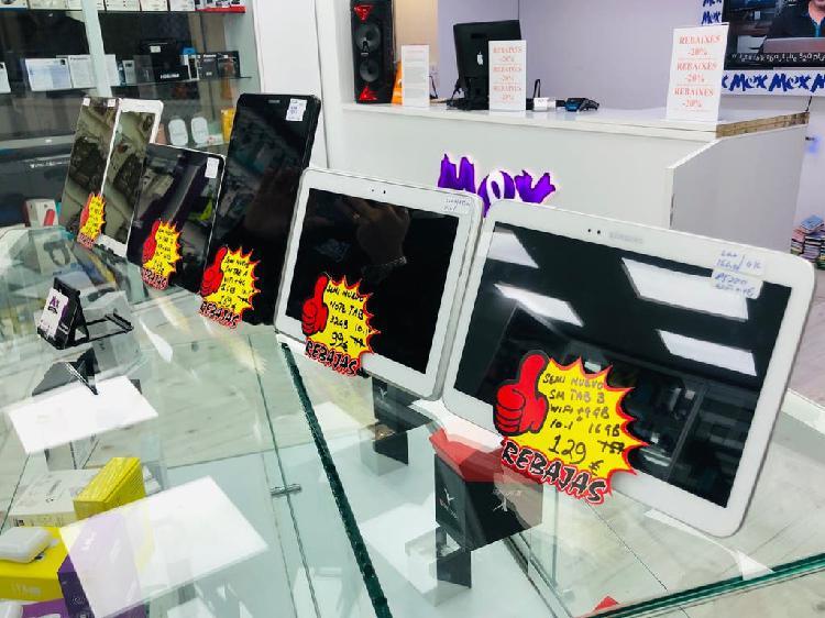 Samsung tabletas semi nuevas factura garantía