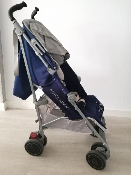 suspensi/ón en las 4 ruedas Maclaren Techno XT Silla de paseo ligero para reci/én nacidos hasta los 25kg Capota extensible con UPF 50+ Asiento multiposici/ón