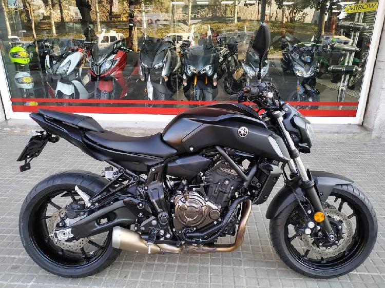 Yamaha mt-07 abs 35kw carnet a2