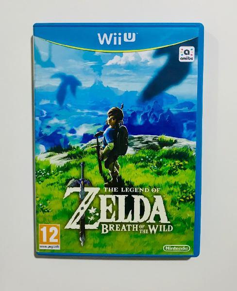 Zelda breath of the wild - wii u