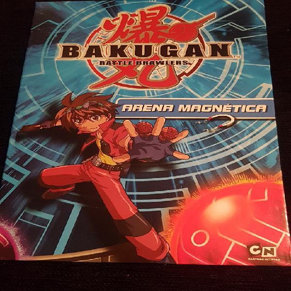 Bakugan battle brawlers arena magnetica