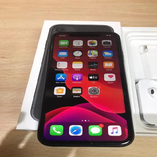 Iphone 11 128gb negro libre