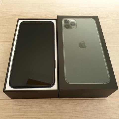 Iphone 11 pro max 64gb verde libre