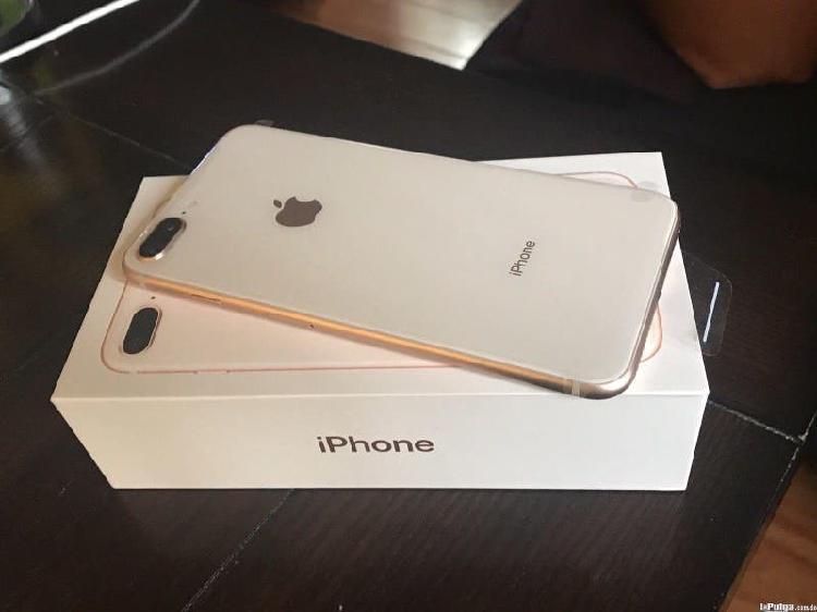 Iphone 8 plus 64gb dorado libre