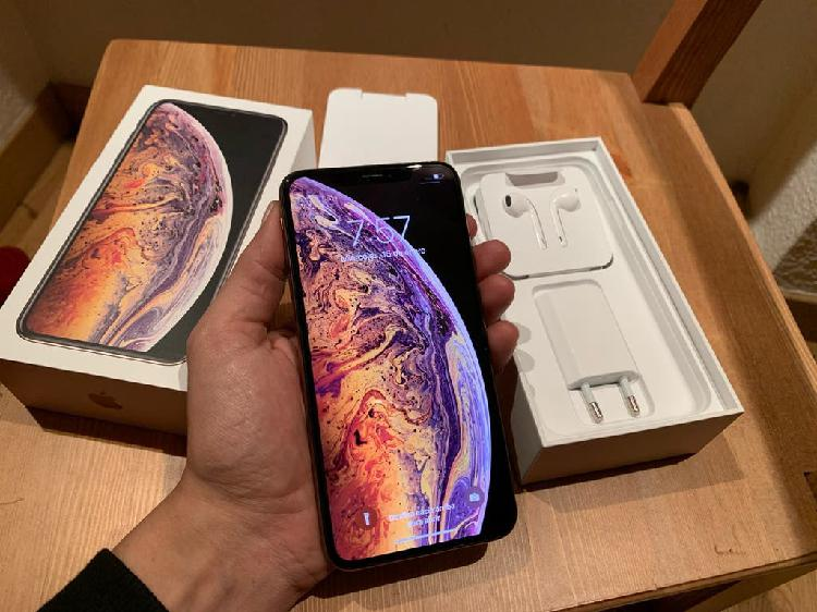 Iphone xs max 64gb gold como nuevo