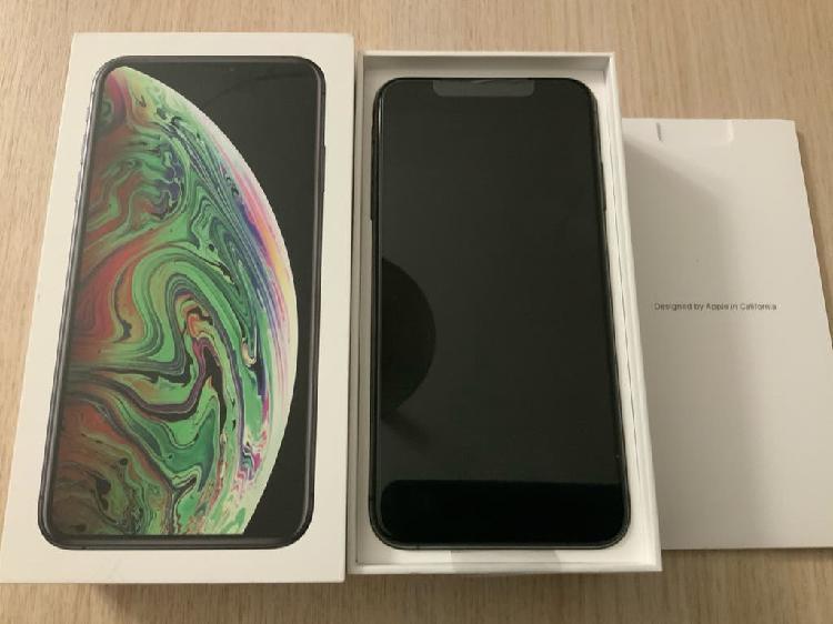 Iphone xs max 64gb negro a estrenar garantía factu