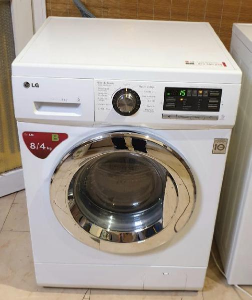 Lavasecadora lg inverter 8kg/4
