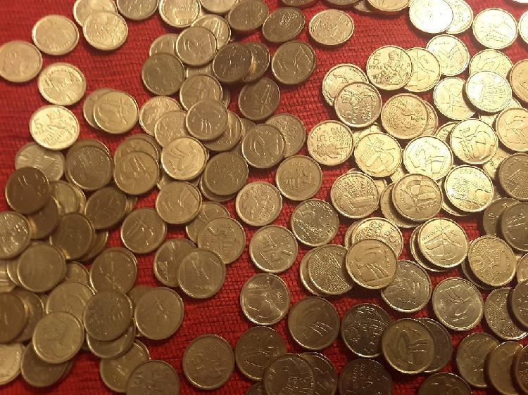 Monedas 5 pesetas rey juan carlos 1975-2001
