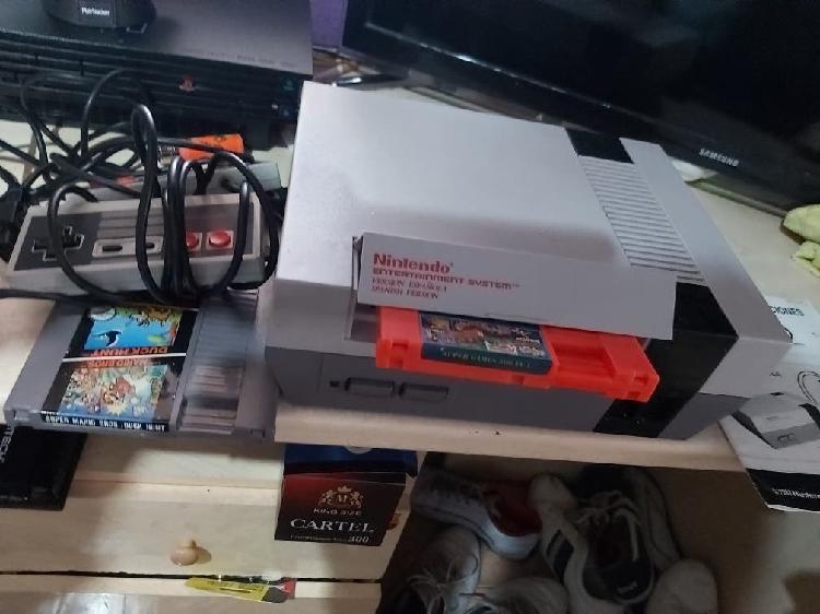 Nintendo nes retro mas juegos con manual
