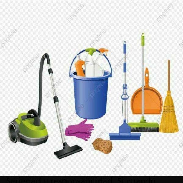 Servicio de limpieza a domicilio.(9.30 a 13.00)