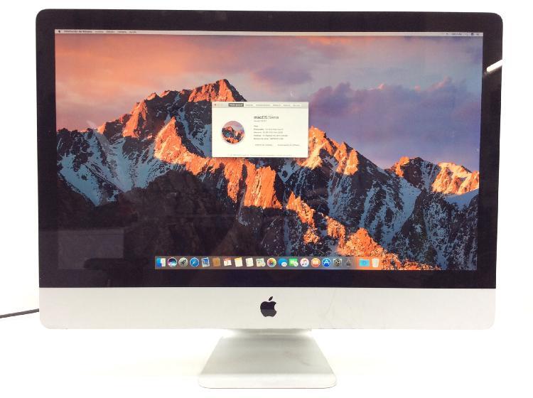 27 % ordenador apple apple imac core i3 3.2 27 (2010)