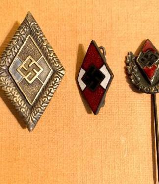 Alemania, 3 insignias de las juventudes