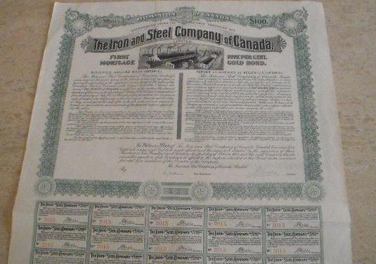 Acción: the iron and steel company of canada