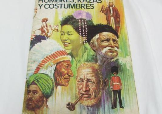 Album cromos hombres razas y costumbres