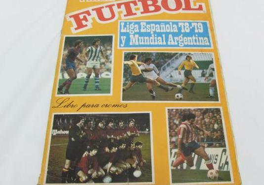 Album cromos incompleto liga 78-79