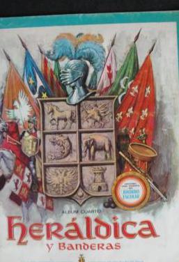 Album de cromos heraldica y banderas