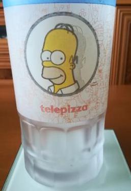Colección jarra telepizza los simpson