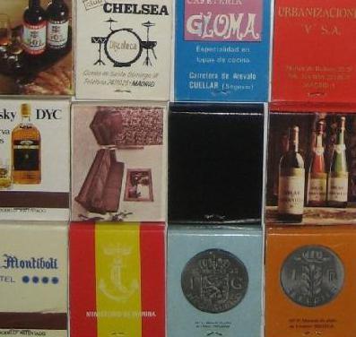 Cajas de cerillas - colección