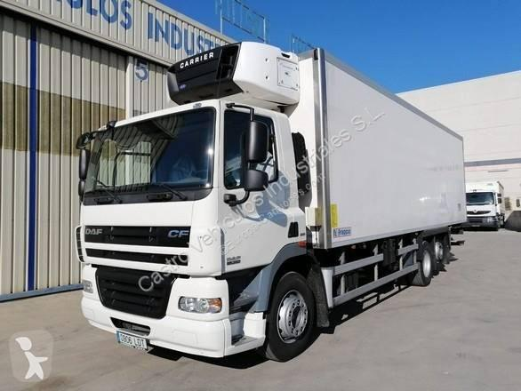Camión daf frigorífico cf85 360 6x2 diesel euro 5 rampa