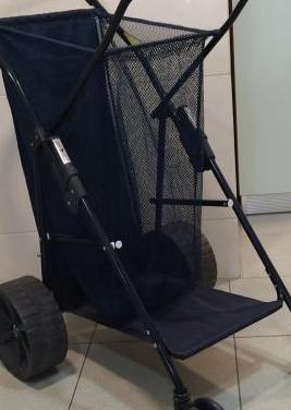Carrito plegable para playa marca wonder wheeler