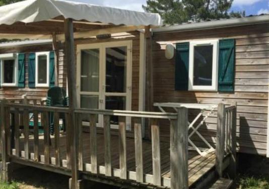 Casa movil de madera 3 dormitorios