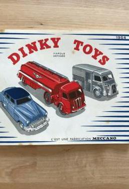 Catálogo dinky toys, meccano. 1954