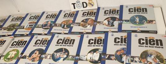 Colección 100 años real madrid