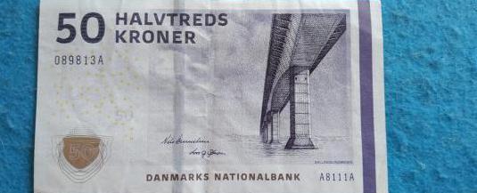 Dinamarca, billete 50 coronas 2009