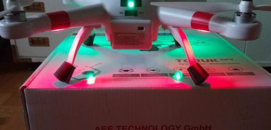Dron aee ap9 gps 25min de autonomía